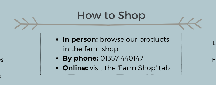 There are several ways to shop at The Heron!